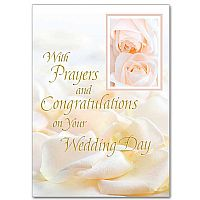 With Prayers and Congratulations on Your Wedding Day