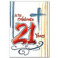 As You Celebrate 21 Years