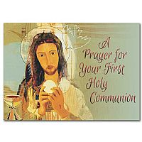 A Prayer for Your First Holy Communion