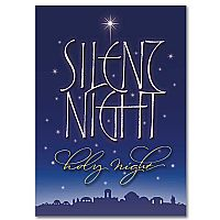 Silent Night Photo Card