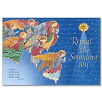 Repeat the Sounding Joy Deluxe Photo Card