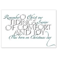 O Tidings of Comfort and Joy
