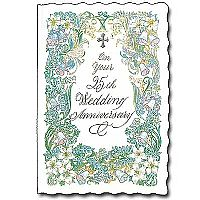 Wedding anniversary cards buy marriage anniversary greeting card on your 25th wedding anniversary m4hsunfo