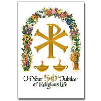 On Your 50th Jubilee of Religious Life
