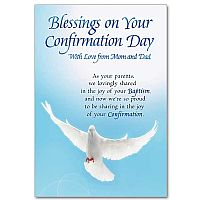 Blessings on Your Confirmation Day