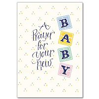 A Prayer for Your New Baby