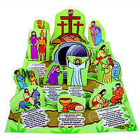 Journey to the Cross: Pop-Up Window Calendar for Holy Week and Easter
