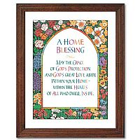Home Blessing Framed Print