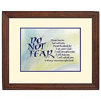 Do Not Fear Framed Print