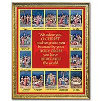 Stations of the Cross Wall Print
