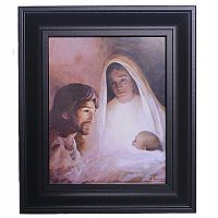 Holy Family Framed Print