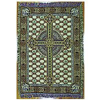 Celtic Cross Tapestry Throw