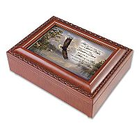 """On Eagle's Wings""  Musical Keepsake Box"