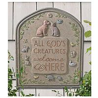 """All God's Creatures"" Plaque"