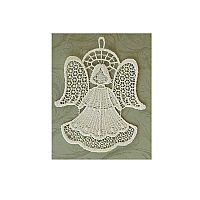 Angel Macrame Ornament