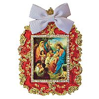 Jesus with the Children Framed Icon