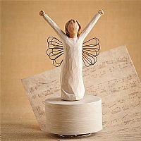 Courage Willow Tree Angel Musical