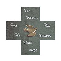 Dove of Peace Wall Cross