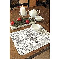 Glorious Angel Lace Placemats