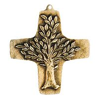 Tree of Life Bronze Wall Cross