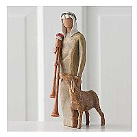 Shepherd with Bagpipe (Zampognaro) Figure