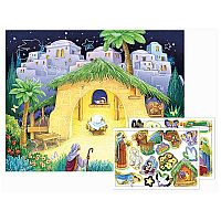 Kid's Nativity Sticker Advent Calendar