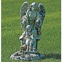 Solar Guardian Angel Statue