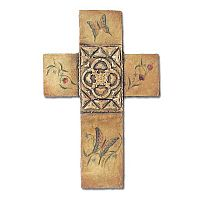 Fresco Butterfly Cross