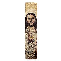 Sacred Heart Tapestry Bookmark