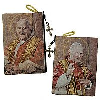 SS John XXIII and John Paul II Tapestry Pouch