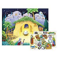 Kid's Nativity Advent Sticker Calendar