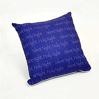 Silent Night Pillow Cover Design 1