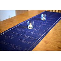 Silent Night Table Runner Design 1
