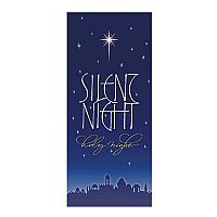 Silent Night Wall Banner Design 1