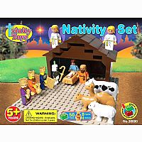 Nativity Building Block Set