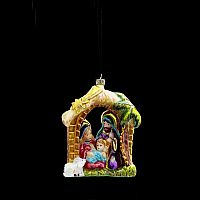 Polonaise Nativity Scene Ornament