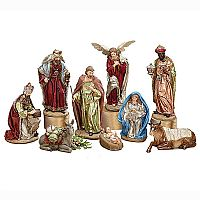 Royal Regal Nativity Set