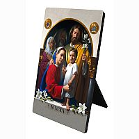Holy Family Desk Plaque (World Meeting of Families)