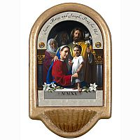 Holy Family Prayer Holy Water Font (World Meeting of Families)