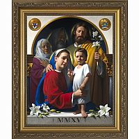 Holy Family Framed Print (World Meeting of Families)