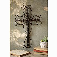 Natural Vine Decor Cross