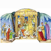 Jesus in the Manger Advent Calendar