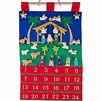 Nativity Fabric Advent Calendar