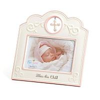 Pink Bless This Child Frame