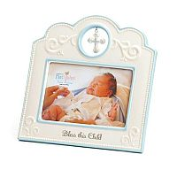Blue Bless This Child Frame