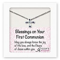Blessings on Your First Communion Pendant