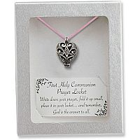 First Communion Prayer Locket