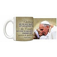 Pope Francis with Child Mug