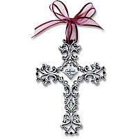 Filigree Confirmation Wall Cross