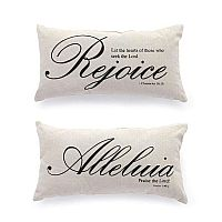 Scripture Pillow Set